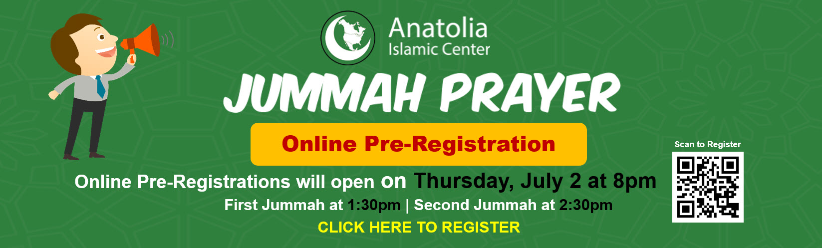 Jummah Prayer june 19