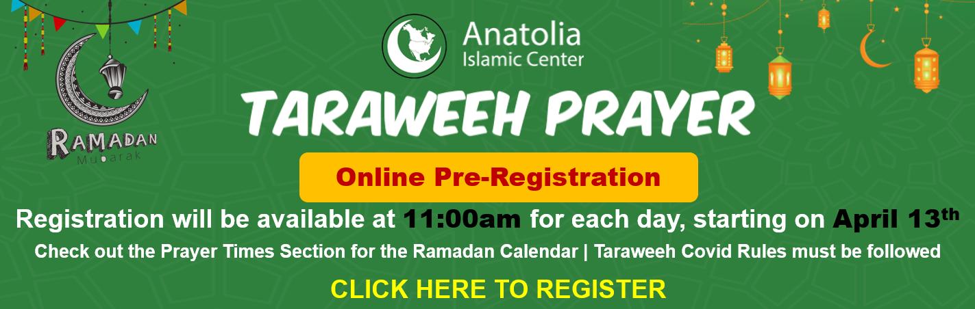 Taraweeh Prayer